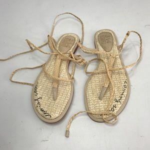 Schutz lace up sandal size 6 NWOB